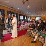 wedding at uphall golf club