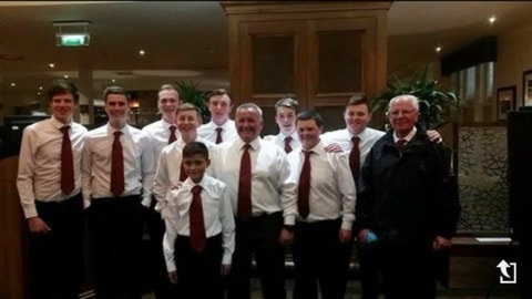 Team photo of Juniors at Gleneagles
