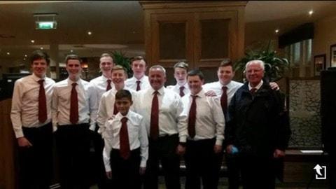 Team photo of Juniors at Gleneagles