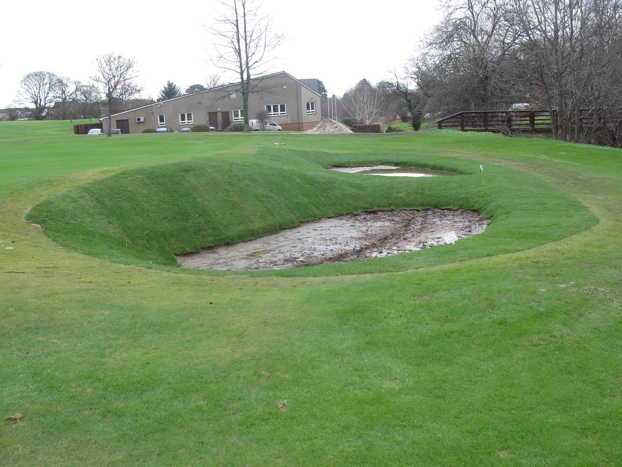 maintenance of bunkers