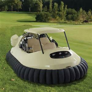hovercraft golf buggy