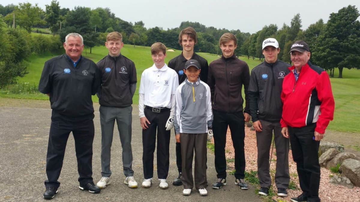 Junior Squad at Uphill Golf Cub