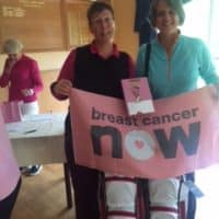 Breast Cancer fundraising at Uphill Golf Club