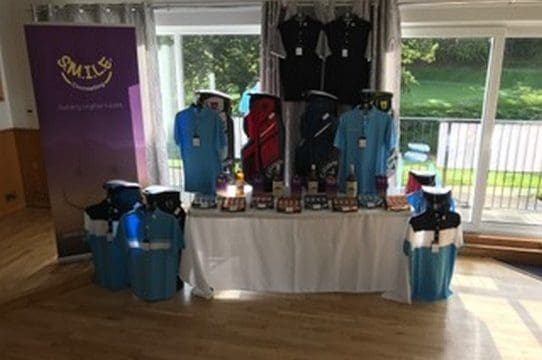 Captain's Charity Scramble Prize Table